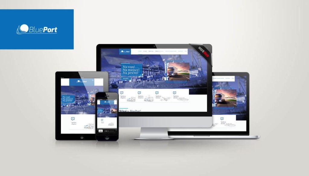 strona internetowa blue-port.pl