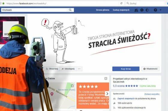 Facebook-owa geodezja A.D. 2017